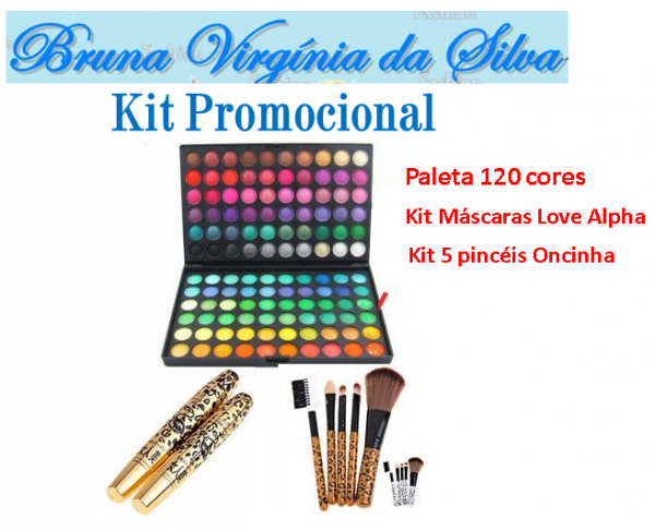 Kit Bruna Virgínia da Silva